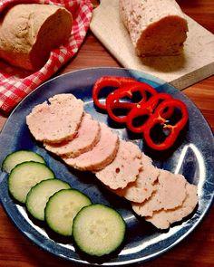 Házi csirkemell sonka Szafi Free kenyérrel Zucchini, Sushi, Healthy Recipes, Healthy Food, Paleo, Vegetables, Ethnic Recipes, Yum Yum, Diet