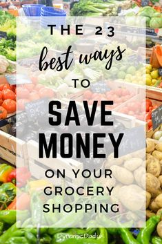 Want to know how to spend less on your shopping? This comprehensive list of ways you can save money on your shopping will help you cut your grocery spend. Money Saving Meals, Save Money On Groceries, Ways To Save Money, Money Tips, Earn Money, How To Make Money, Frugal Living Tips, Frugal Tips, Budgeting Finances