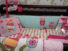 owl+baby+bedding | USA Baby Franklin to see our entire collection of ZUTANO OWL bedding ...