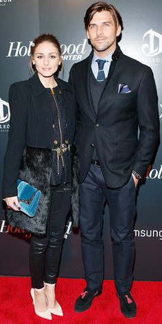 Olivia and Johannes bundled up to attend the premiere of 'Django Unchained' at the Ziegfeld Theatre in New York City.
