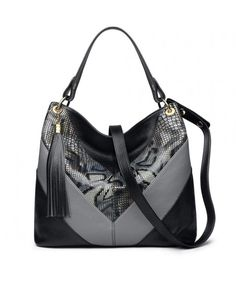 c6ee2b053de5 Womens Leahter Handbags Large Hobo Bag Shoulder Bags Colorblock -  C317YY7DI30