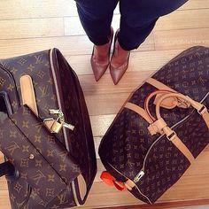 Louis Vutton Handbag Purse Suitcase Luggage Designer Fashion