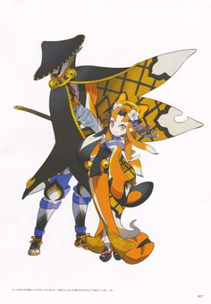 View an image titled 'Yoko & Brother Art' in our Bravely Second: End Layer art gallery featuring official character designs, concept art, and promo pictures. Game Character Design, Character Design Inspiration, Character Concept, Character Art, Concept Art, Bravely Default, Gamers Anime, Cute Anime Pics, Zen Art