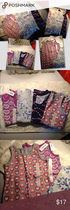 Bundled 4 tank tops 2 size 4t and 2 size 5 Cute tank tops  4 total Old Navy Shirts & Tops Tank Tops