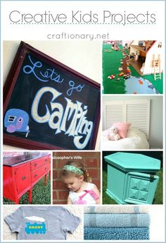 Creative kids projects #kids #crafts