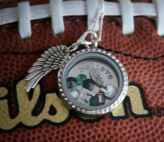 Philadelphia Eagles!   To order: www.LoriLarkin.origamiowl.com  Origami Owl Living Lockets ~ Lori Larkin Independent Designer Iowa, South Dakota, Nebraska. Sioux City. Sergeant Bluff. locket. NFL. football. Like my page & follow all the O2 news! www.facebook.com/locketlori.