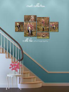 Stairway Canvas idea