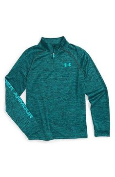 3f20916ffd49 Under Armour HeatGear® Quarter Zip Tech Pullover (Big Boys) available at   Nordstrom