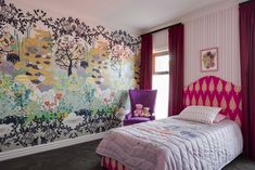 Kids' Room Decor: Keep It Stylish and Cool - Peschekinteriors Woodland Critters, Georgian Homes, Bed Base, Safe Haven, Drapes Curtains, Bed Sheets, Floating Shelves, Kids Room, Creativity