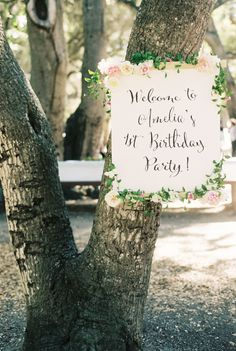 Organic Countryside Garden First Birthday Party - Style Me Pretty Living