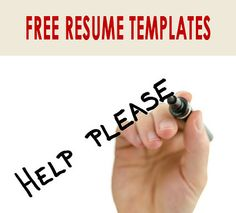 If you are looking for a place to start with your resume, our free resume templates download can help! It can be overwhelming organizing your job experience and skills, especially if you don't currently have a resume.  Each of our professionally-written, free resume templates can be customized with your credentials. Simply click on one of these links to download a free resume template (Microsoft Word file/.doc) that you can use to give your job search the boost it needs.