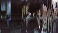 "Michael Gollong – ""Chinatown - Polyphonic Scenes - Mrs. Mulwray"". Freie Arbeit für Canon Professional Service. Roman Polanskis ""Chinatown"" mit Scanner gescannt."