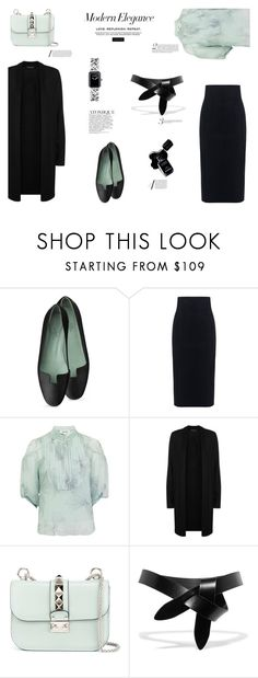 """Modern Elegance"" by canvas-moods ❤ liked on Polyvore featuring 10 Crosby Derek Lam, Bora Aksu, Eileen Fisher, Valentino, Étoile Isabel Marant, Chanel and modern"