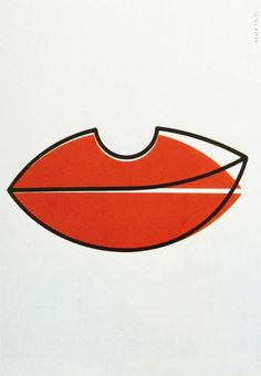 """Wolfgang Schmidt, Untitled, 1977. Germany. From the book """"Das Plakat ist eine Fläche, die ins Auge springt"""", 1979."""