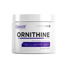 OstroVit Supreme Pure Ornithine 200 g Supreme, Coconut Oil, Container, Nutrition, Jar, Pure Products, Jars, Glass