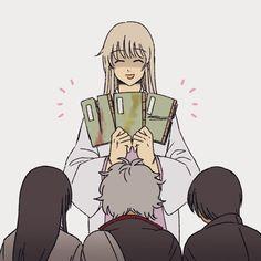 Ryo on – Gintama Manga Anime, Anime Fnaf, Anime Art, Gintama Funny, Gintama Wallpaper, Silver Samurai, Otaku, Link Art, Okikagu