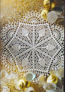 Hooked on crochet. Free doily and other diagram patterns.