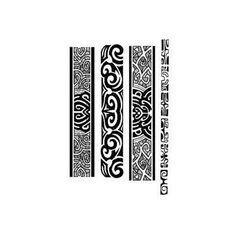 Image Bijoux , Tatouages bracelets maori et polynesien autocollant , tarawa  com , 3,50
