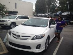Ardmore Toyota congratulates Brittney on her new 2013 Toyota Corolla on behalf of Salesperson Q Azad! Thank you Brittney for coming back and purchasing another car from Q and from Ardmore Toyota!