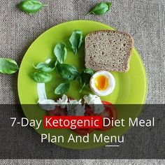 7-Day Ketogenic Diet Meal Plan And Menu                                                                                                                                                                                 More
