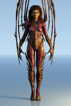 Starcraft II Kerrigan Model by *Walter-NEST on deviantART