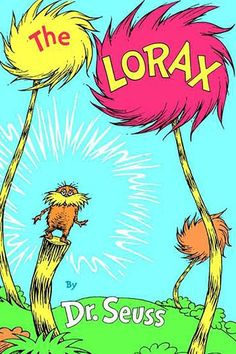 "Seuss The Lorax bears and birds Pillow COVER 16/"" Dr"