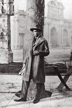 Afro-Chinese Cuban artist Wifredo Lam (Cuba,1902~1982)