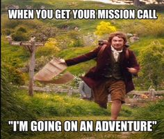 Oh gosh, LET'S GO ON AN ADVENTURE! #mormonprobs