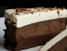 Greek Sweets, Greek Desserts, Cold Desserts, Party Desserts, Delicious Desserts, Dessert Recipes, Chocolate Fudge Frosting, Chocolate Recipes, Chocolate Cake