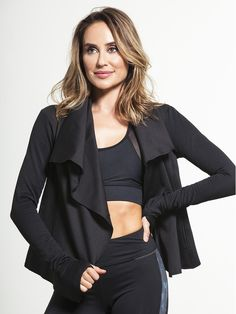 Sophisticated Draped by ALALA - OUTERWEAR & JACKETS
