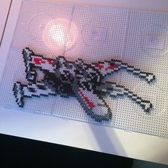 X-Wing Star Wars hama perler beads by sarabygvraa