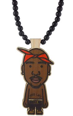 GoodWoodNYC - GWxDN Tupac I Pendant, $40.00 (alley fødeseldag  (http://www.goodwoodnyc.com/gwxdn-tupac-i-pendant/)