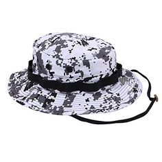 Rothco Boonie Hat in CITY Digital Camo   Snow Camo. Provides Shade on Sunny  Days! Boonie Hats are great for military 641a8d3d70a4