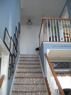2 Story Foyer Decorating Ideas | Two Story Foyer , From Builders Beige To  Cottage Style Idea