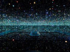 Kusama's Infinity Mirrored Room #light #mirror #sparkle
