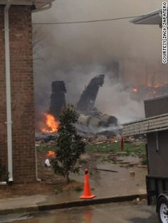 In The News: A jet crash--thank God no one was killed.