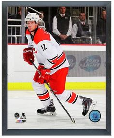 "Jordan Staal 2013-14 Hurricanes - 11"" x 14"" Photo in a Glassless Sports Frame"