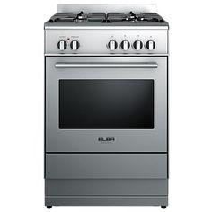 Elba 60cm Stainless Steel Dual Fuel Freestanding Range OR60SCGFX2 $2079