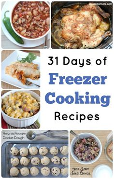 Join us as we celebrate 31 Days of Freezer Cooking Recipes | 5DollarDinners.com