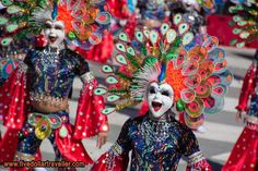 The Masskara festival is held every October in Bacolod. People come from all over to show off their dance routines and incredible masks. Discovered by 5 Dollar traveller at Bacolod, #Philippines