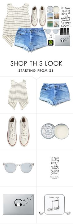 """untitled #96"" by caro3302 ❤ liked on Polyvore featuring Converse, Jack Wills, Polaroid, Sun Buddies, Music Notes, Happy Plugs and Monki"