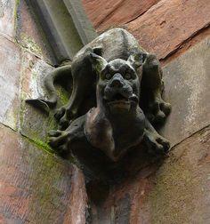 On church in Cumbria, England