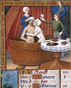 Biblioteca Nacional de España, Cod. Vitr. 24-3, detail of f. 10v. Libro de horas de Carlos V. Paris (workshop of Jean Poyer?), late 15th/early 16th century.
