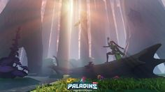 Paladins - Cassie on the hunt-