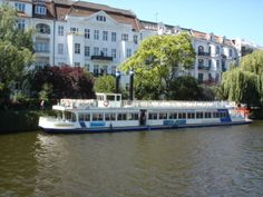 Take a cruise on the Spree River in Berlin, Germany.