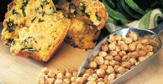 Chickpea and Spinach Muffins