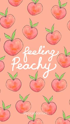 Feeling Peachy 🍑 free background by Paige Joanna - Hintergrundbilder - Wallpaper Peach Wallpaper, Iphone Wallpaper Vsco, Cute Wallpaper For Phone, Iphone Background Wallpaper, Kawaii Wallpaper, Trendy Wallpaper, Aesthetic Iphone Wallpaper, Cool Wallpaper, Aesthetic Wallpapers