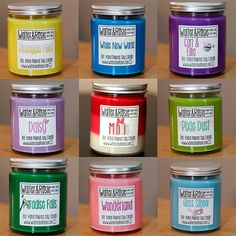 Smells that will take you back to Disney. Choose your Own Mouse Inspired scent  8oz Soy by WalterandRosie, $10.00