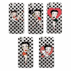 Betty Boop Fashion Cute Cartoon Soft TPU Phone Case Cover For iPhone 7Plus 7 6Plus 6 6S 5 5S SE 5C 4 4S Samsung Galaxy