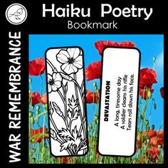 A poetry writing activity for your students that can be used for war remembrance days such as: ♦ Anzac Day ♦ Remembrance Day ♦ Armistice Day ♦ Memorial Day ♦ Veterans Day This poem has the format of 5 syllables, 7 syllables, 5 syllables. Narrative Poetry, Writing Poetry, Spelling Words, Sight Words, Armistice Day, Anzac Day, Remembrance Day, Syllable, School Resources